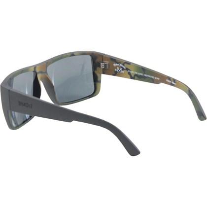 Óculos De Sol Evoke The Code Pedro Barros Camouflage Grafite Grey Total
