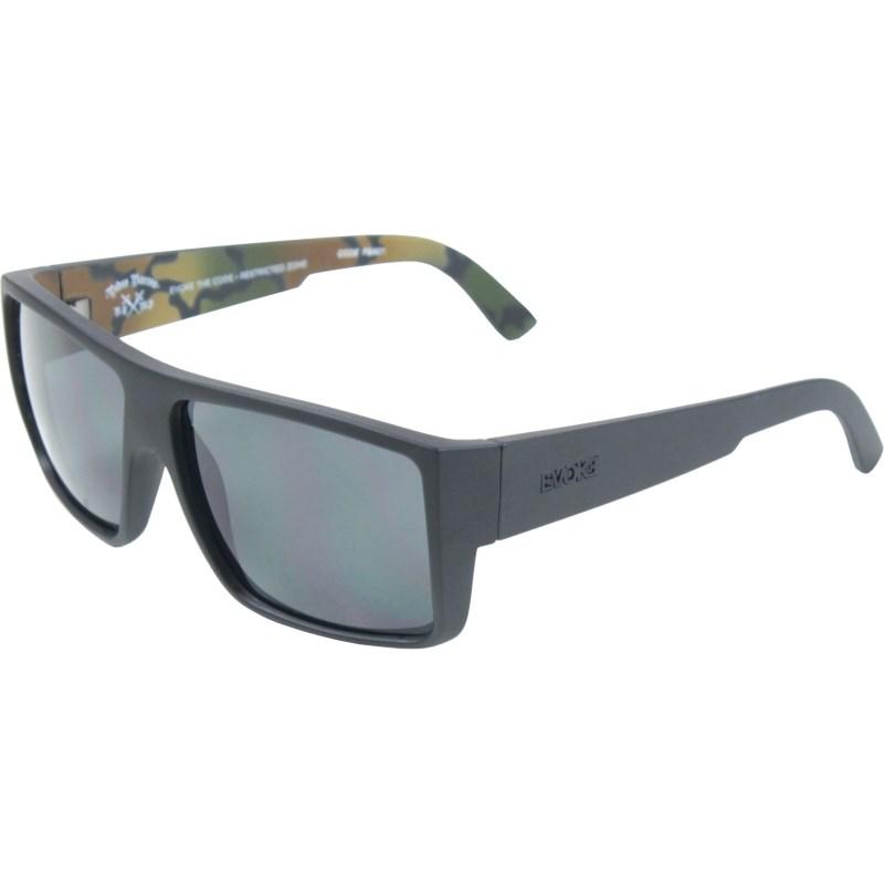 62849f6618839 Óculos De Sol Evoke The Code Pedro Barros Camouflage Grafite Grey Total