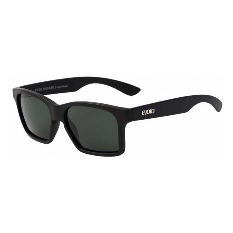 Óculos De Sol Evoke Thunder Black Matte G15 Total