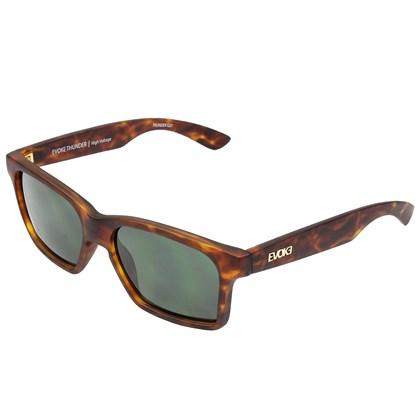Óculos de Sol Evoke Thunder G21 Turtle Matte Gold G15 Green Total