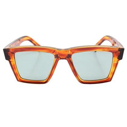 Óculos de Sol Evoke Time Square G22 Havanna Retro Light Gold Green Total
