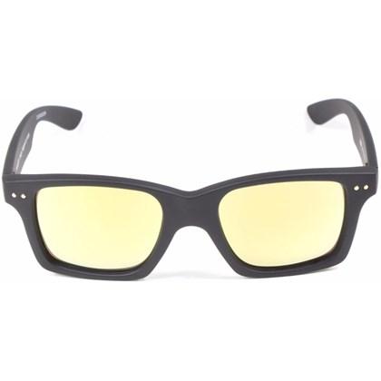Óculos de Sol Evoke Trigger Black Matte Gold Gold Multlayer Mirror