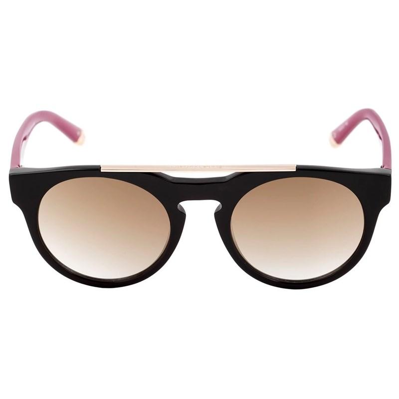 Óculos de Sol Evoke Upper III A02S Black Temple Gooseberry Brown Espelhado
