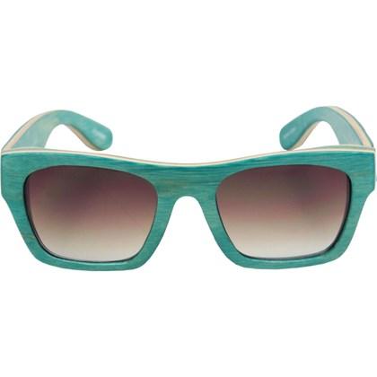 Óculos De Sol Evoke Wood Series 02 Maple Collection Green Laser Brown Gradient