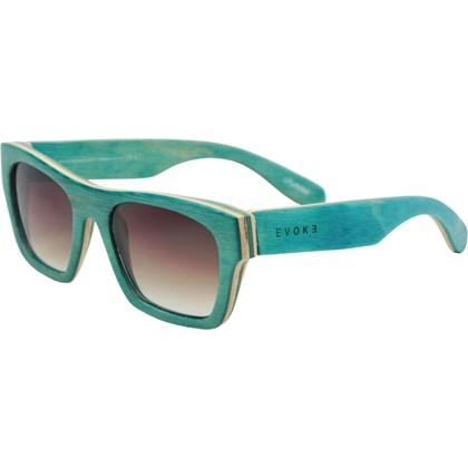 Óculos De Sol Evoke Wood Series 02 Maple Collection Green Laser Brown  Gradient ... fbbbedb3c9