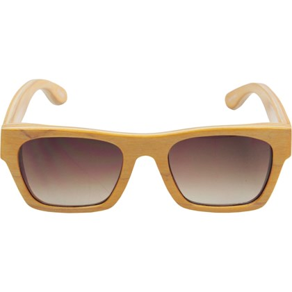 Óculos De Sol Evoke Wood Series 02 Maple Collection Yellow Laser Brown Gradient