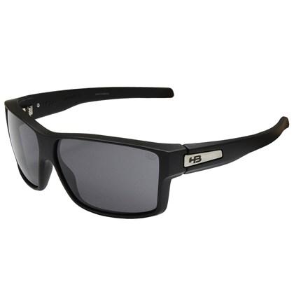 Óculos de Sol HB Big Vert Matte Black Gray Lenses