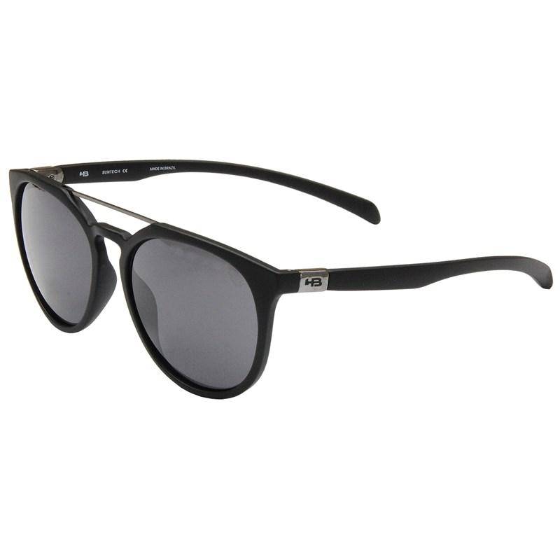 d1445486bb5cb Óculos de Sol HB Burnie Matte Black Gray Lenses - Surf Alive o ...