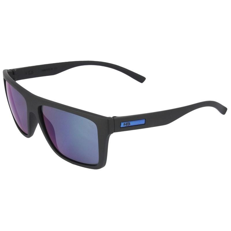 efd64cf97e6 Óculos de Sol HB Floyd Matte Black Blue Chrome Lenses - Surf Alive