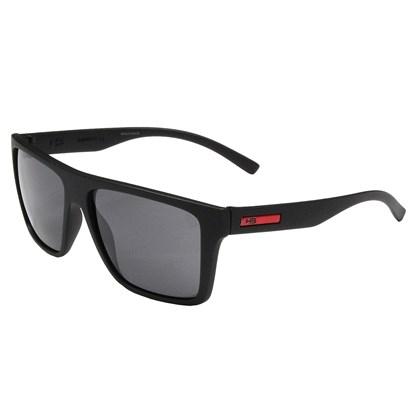 Óculos de Sol HB Floyd Matte Black D.Red Gray