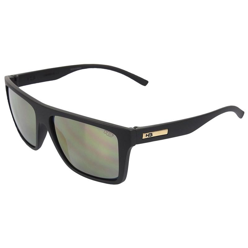 Óculos de Sol HB Floyd Matte Black Gold Chrome