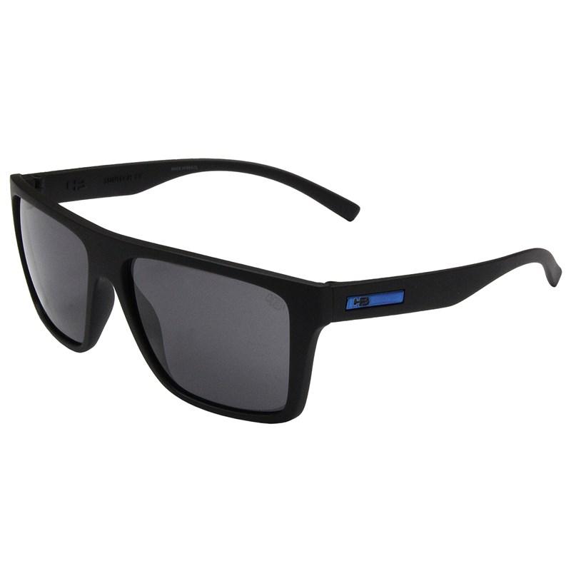 Óculos de Sol HB Floyd Matte Black GrayÓculos de Sol HB Floyd Matte Black D.Blue Gray