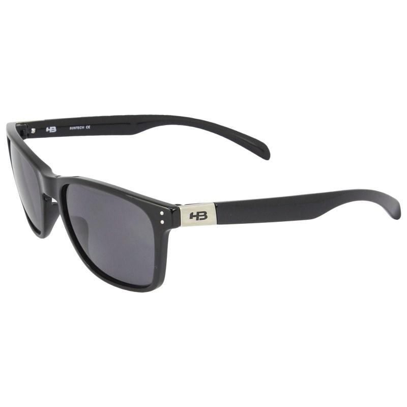 03c7a894714f5 Óculos de Sol HB Gipps 2 Gloss Black Gray Lenses - Surf Alive