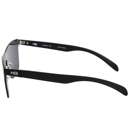 Óculos de Sol HB H-Bomb Mask Matte Black Gray Lenses