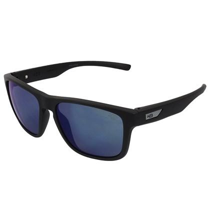 Óculos de Sol HB H-Bomb Matte Black Blue Chrome