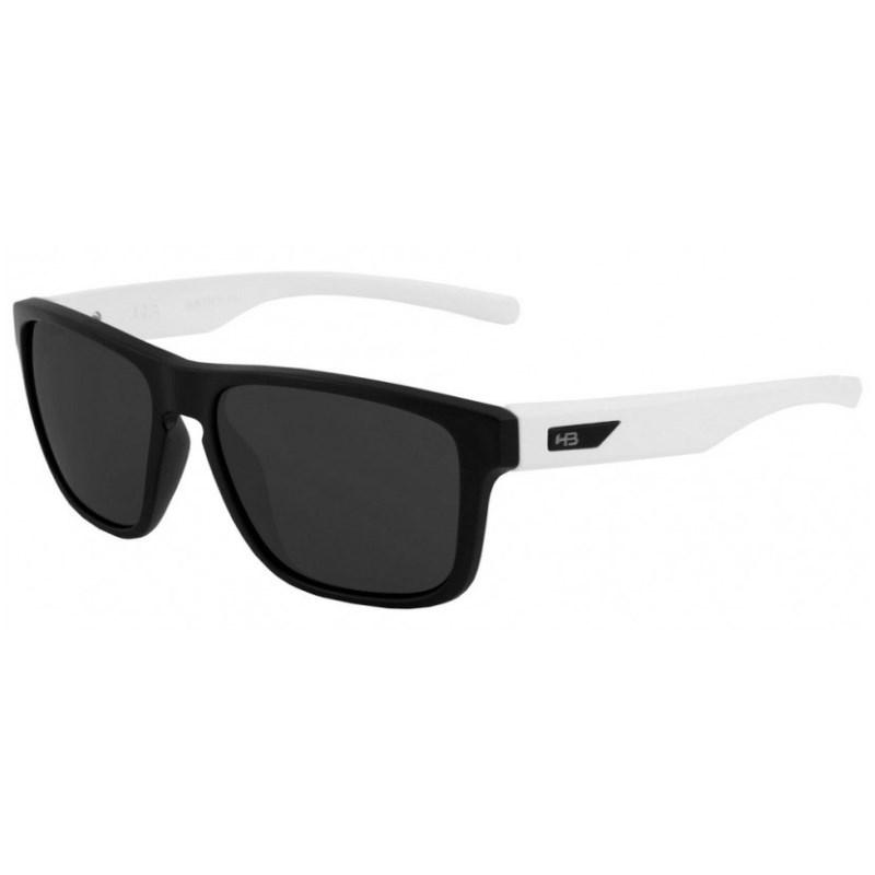 539eea16e Óculos de Sol HB H-Bomb Matte Black Gloss White - Surf Alive