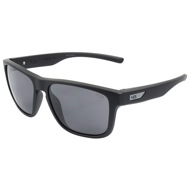 4b4f7e71748fa Óculos de Sol HB H-Bomb Matte Black Gray - Surf Alive
