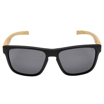 Óculos de Sol HB H-BOMB Matte Black Wood Gray