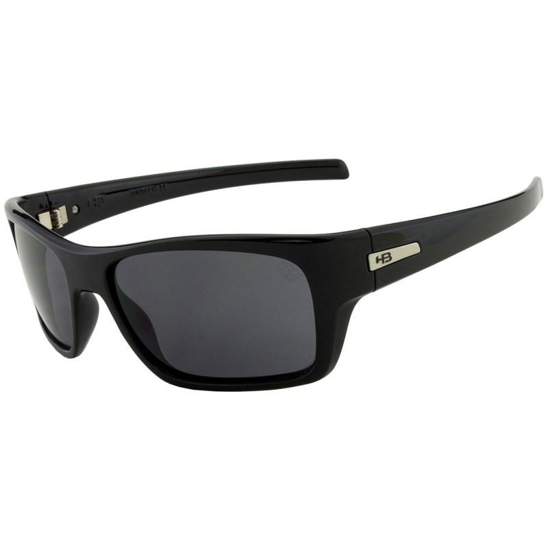 Óculos de Sol HB Monster Fish Gloss Black Gray Lenses