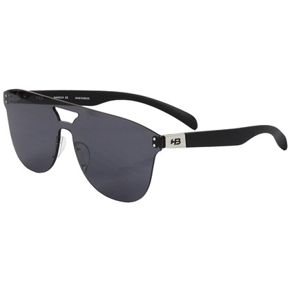 Óculos de Sol HB Moomba Mask Matte Black Gray Lenses