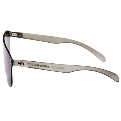 Óculos de Sol HB Moomba Mask Matte Onyx Blue Chrome Lenses