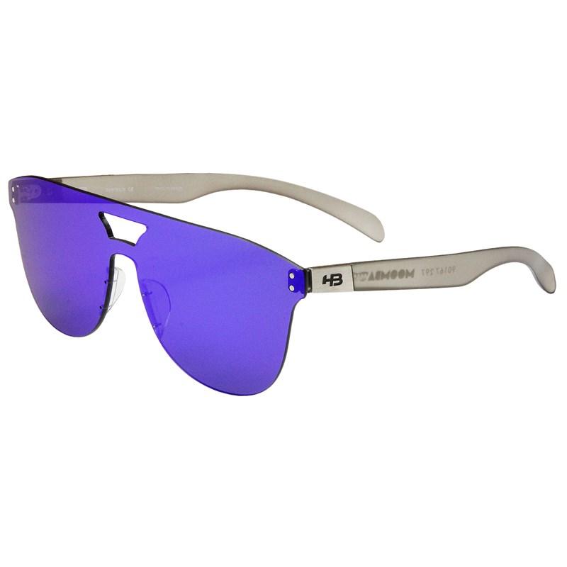68a36b26d7808 Óculos de Sol HB Moomba Mask Matte Onyx Blue Chrome Lenses - Surf Alive