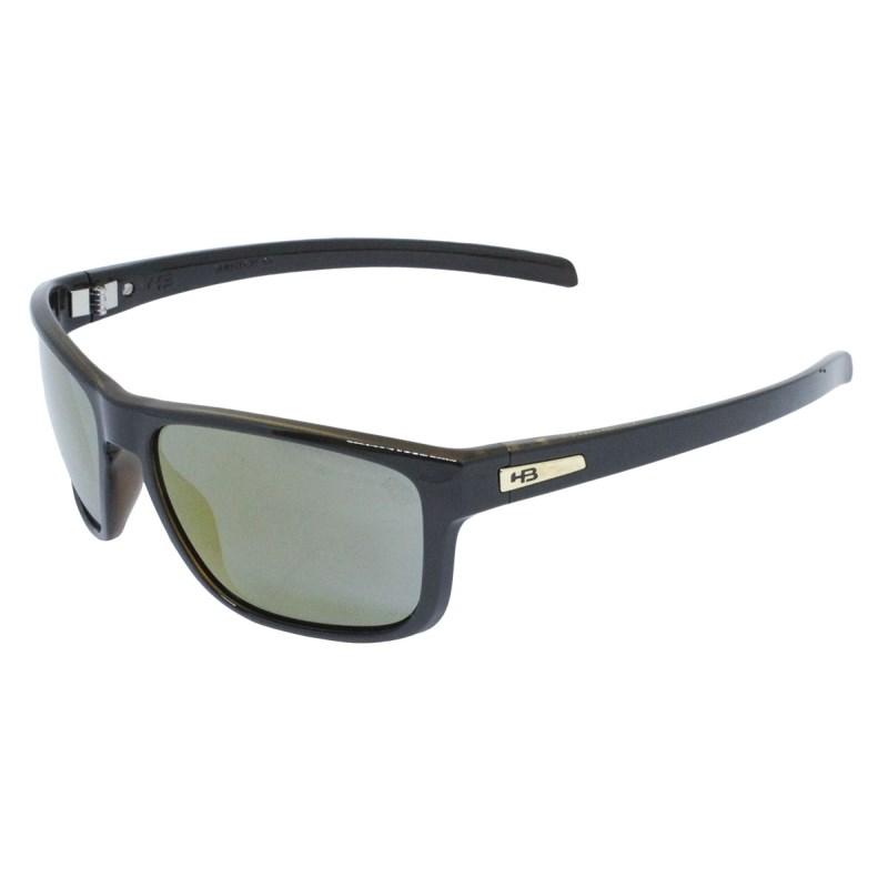 Óculos de Sol HB Thruster Black Havana Gold Chrome Lenses
