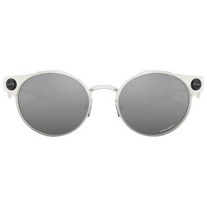 Óculos de Sol Oakley Deadbolt Satin Chrome Prizm Black