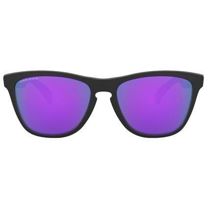 Óculos de Sol Oakley Frogskins Matte Black Prizm Violet