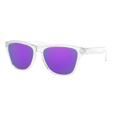 Óculos de  Sol Oakley Frogskins Polished Clear Prizm Violet