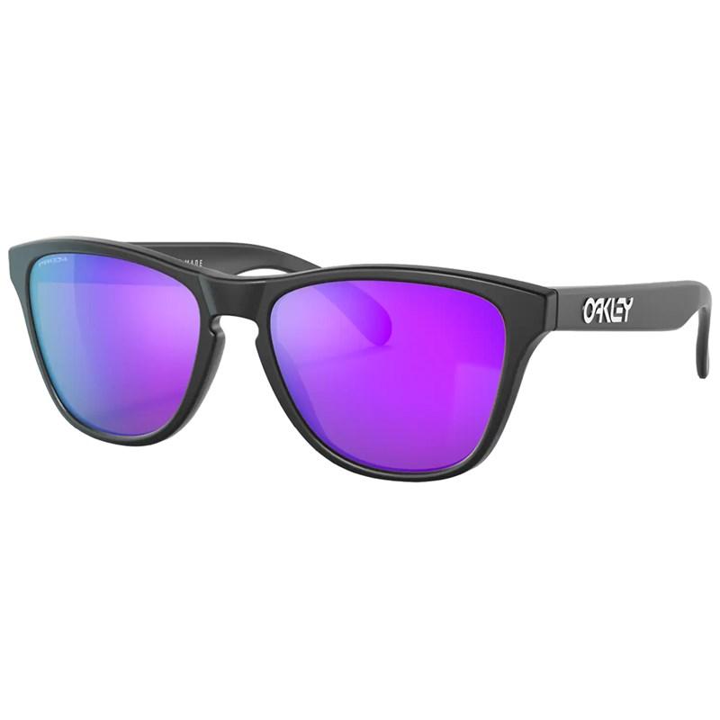 Óculos de Sol Oakley Frogskins XS Matte Black Prizm Violet