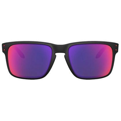 Óculos de Sol Oakley Holbrook Matte Black Positive Red Iridium