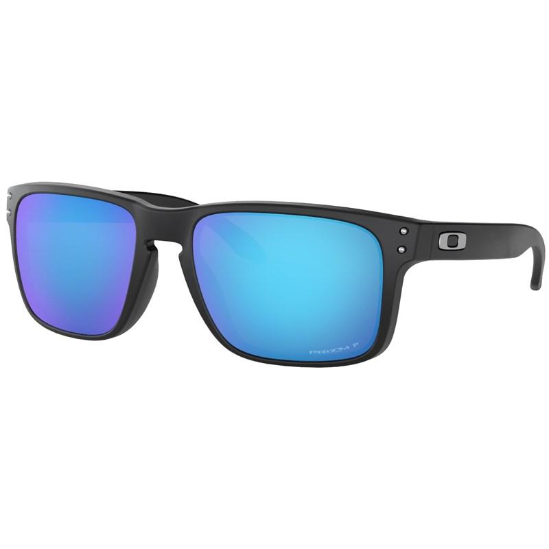 Óculos de Sol Oakley Holbrook Matte Black Prizm Sapphire Polarized