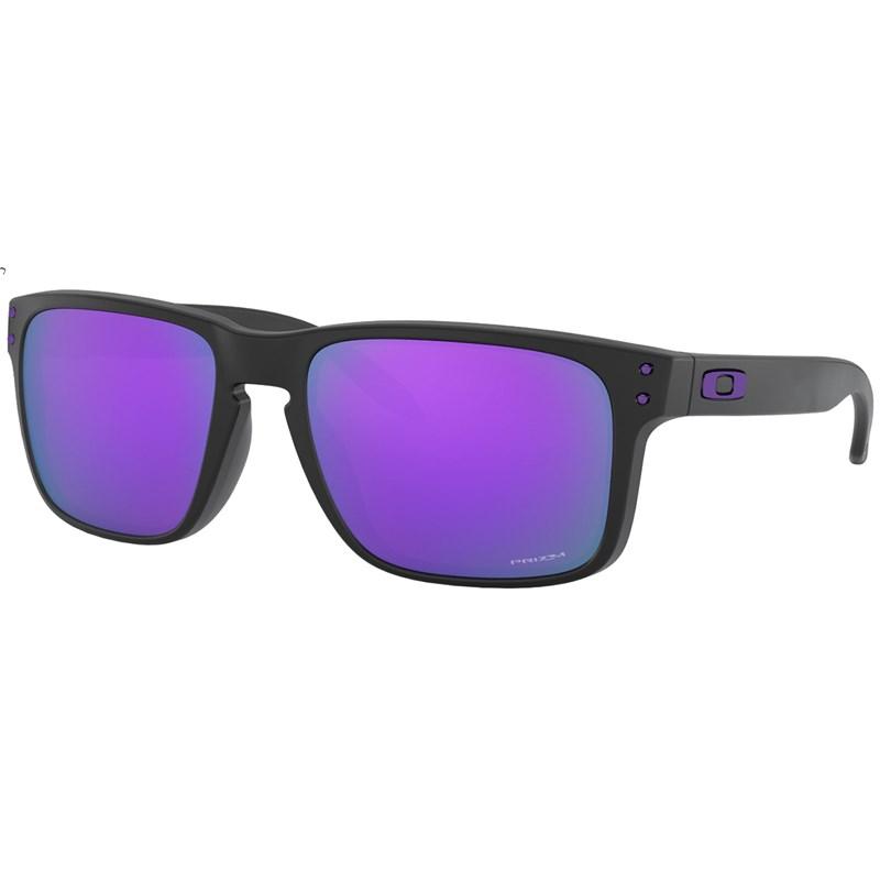 Óculos de Sol Oakley Holbrook Matte Black Prizm Violet