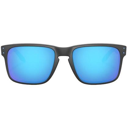 Óculos de Sol Oakley Holbrook Matte Black Prizmatic Prizm Sapphire Polarized