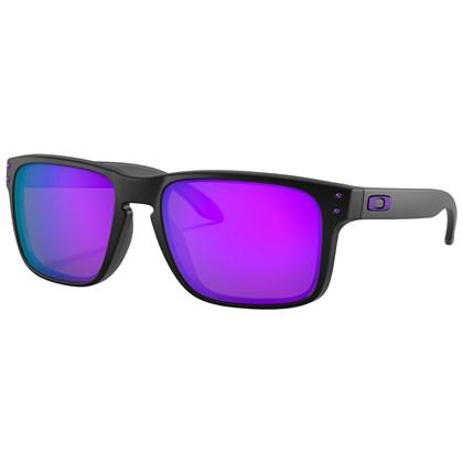 Óculos de Sol Oakley Holbrook Matte Black Violet Iridium