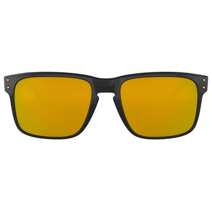 Óculos de Sol Oakley Holbrook Polished Black 24K Iridium