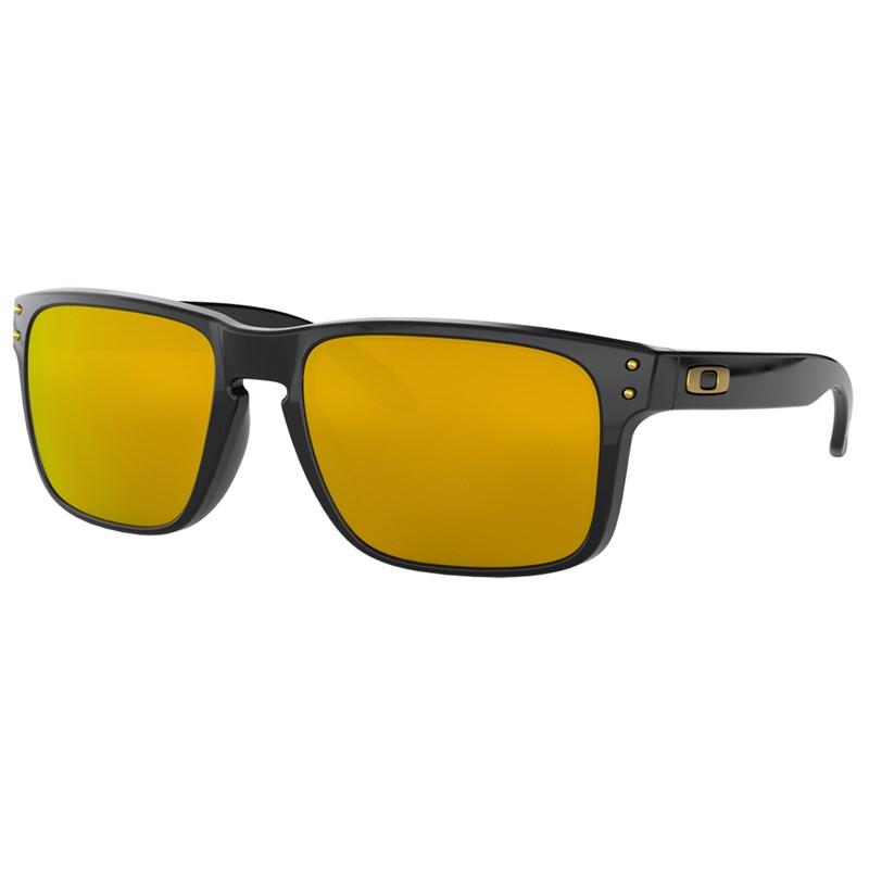 Óculos de Sol Oakley Holbrook Polished Black 24K Iridium