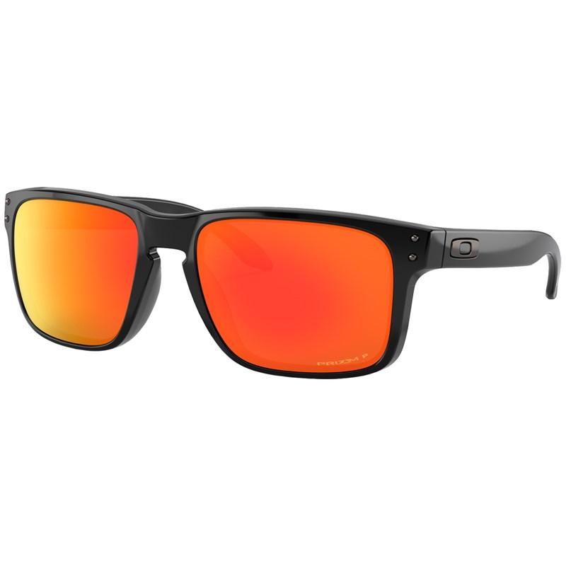 Óculos de Sol Oakley Holbrook Polished Black Prizm Ruby Polarized