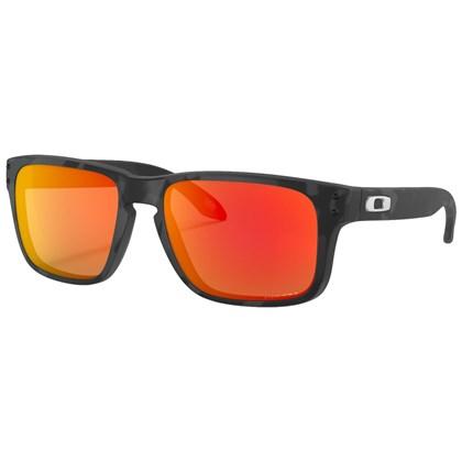 Óculos de Sol Oakley Holbrook XS Matte Black Camo Prizm Ruby