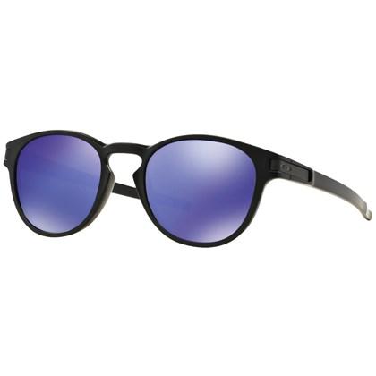 Óculos de Sol Oakley Latch Matte Black Violet Iridium