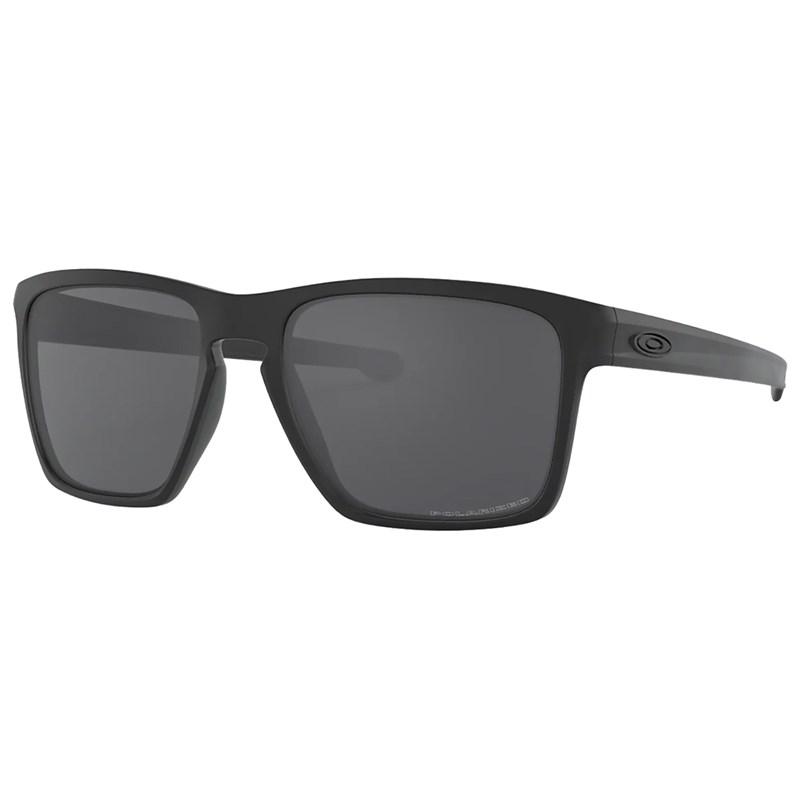 Óculos de Sol Oakley Sliver XL Matte Black Icon Grey Polarized