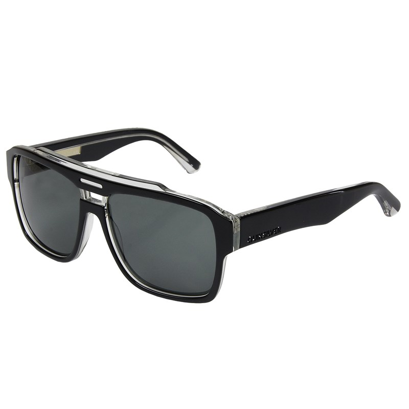 b37f4d2d6e0a8 Óculos de Sol Quiksilver Parker Shiny Black Grey   Surf Alive