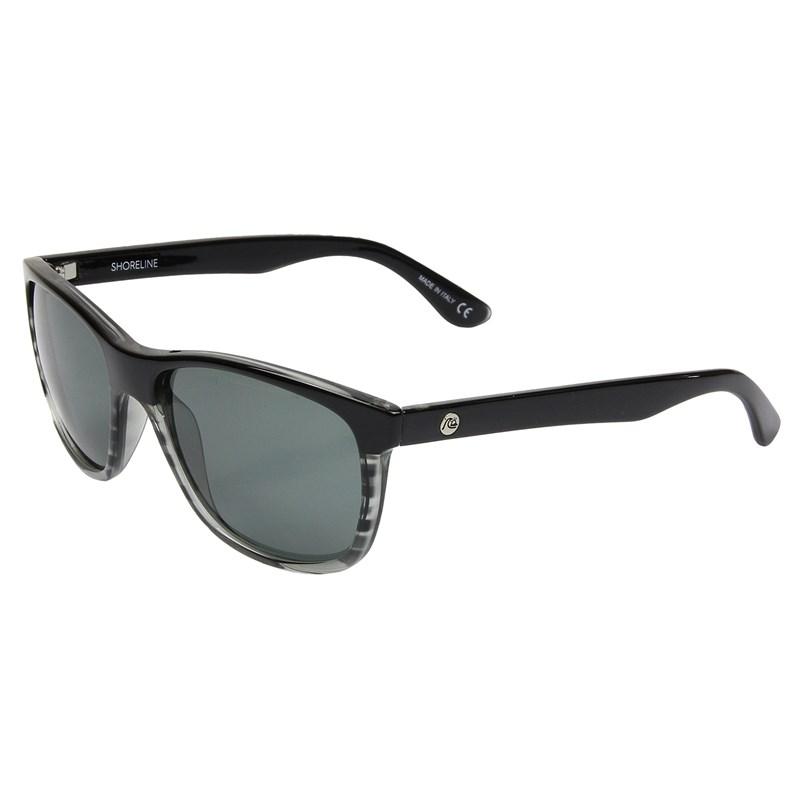 e4886649ee044 Óculos de Sol Quiksilver Shoreline Black Cristal   Surf Alive