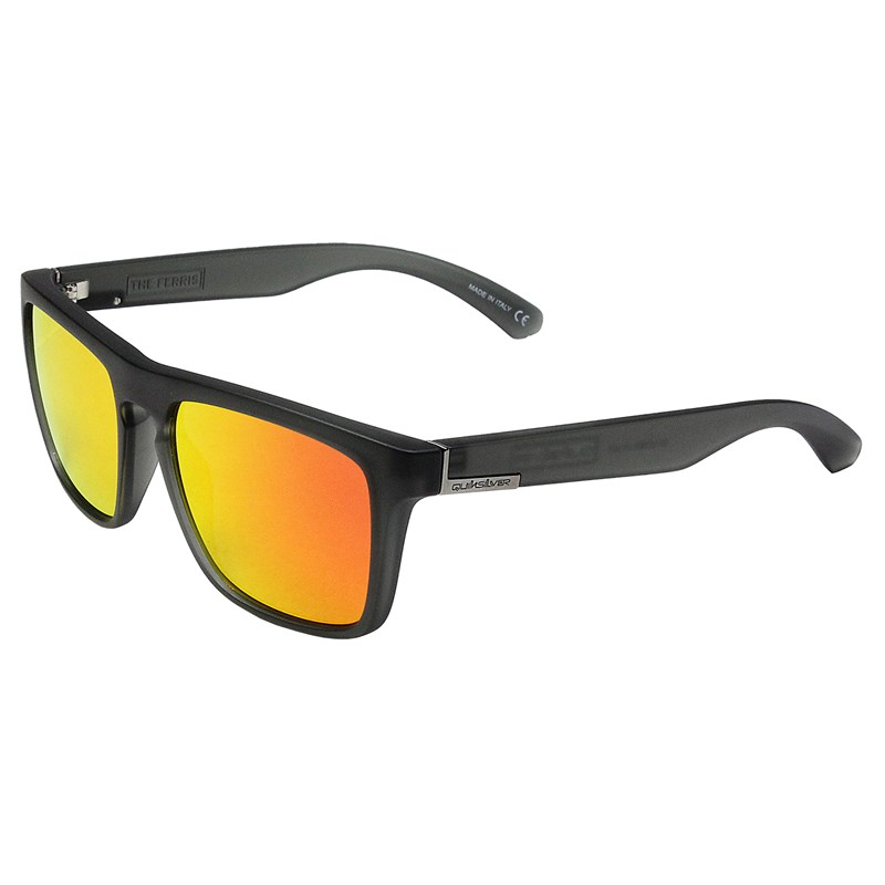 cc291abac990f ÓCULOS DE SOL QUIKSILVER THE FERRIS BLACK MATT RED - SurfAlive