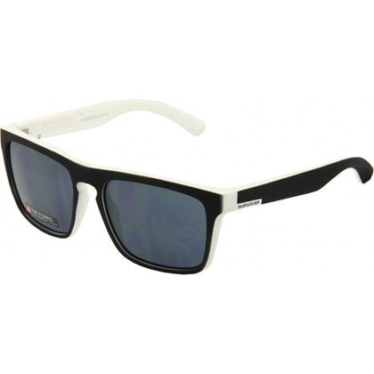 ÓCULOS DE SOL QUIKSILVER THE FERRIS BLACK WHITE SOFT TOUCH