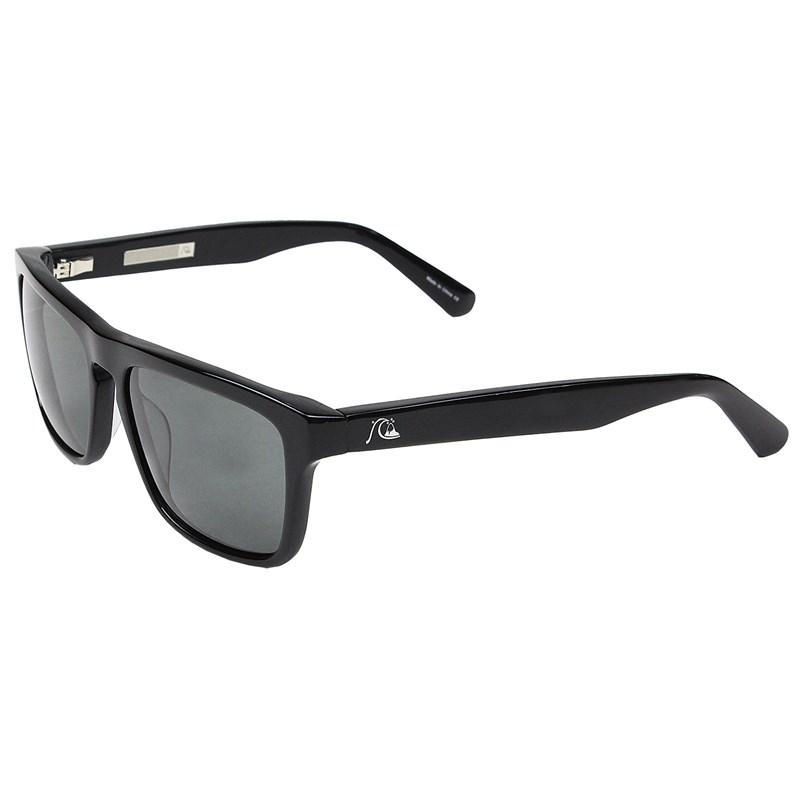 Óculos De Sol Quiksilver The Ferris M.O Shiny Black Grey