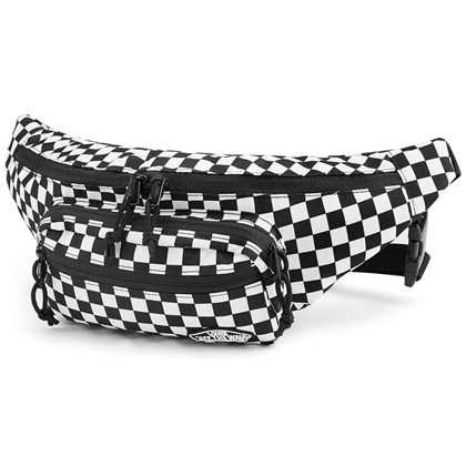 Pochete Vans Street Ready Checkerboard Black White