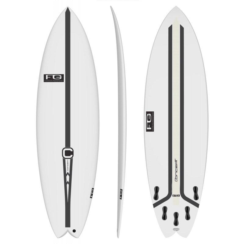 Prancha de Surf Concept FG Twin Tuare 5´9
