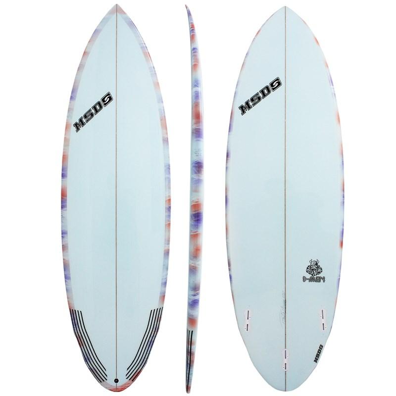 Prancha de Surf MSD Surfboards D-Men 6.2
